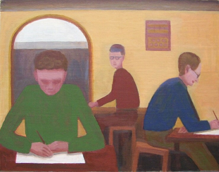'Postgraduates' by John Bourne